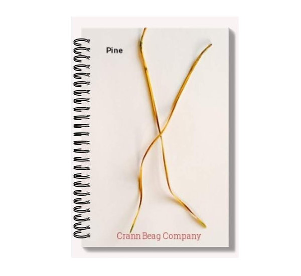 High Gloss A6 Notepad Autumn Pine