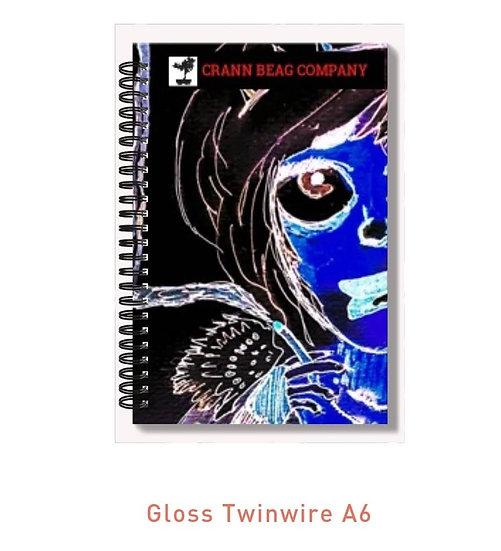 High Gloss A6 Notepad Halloween