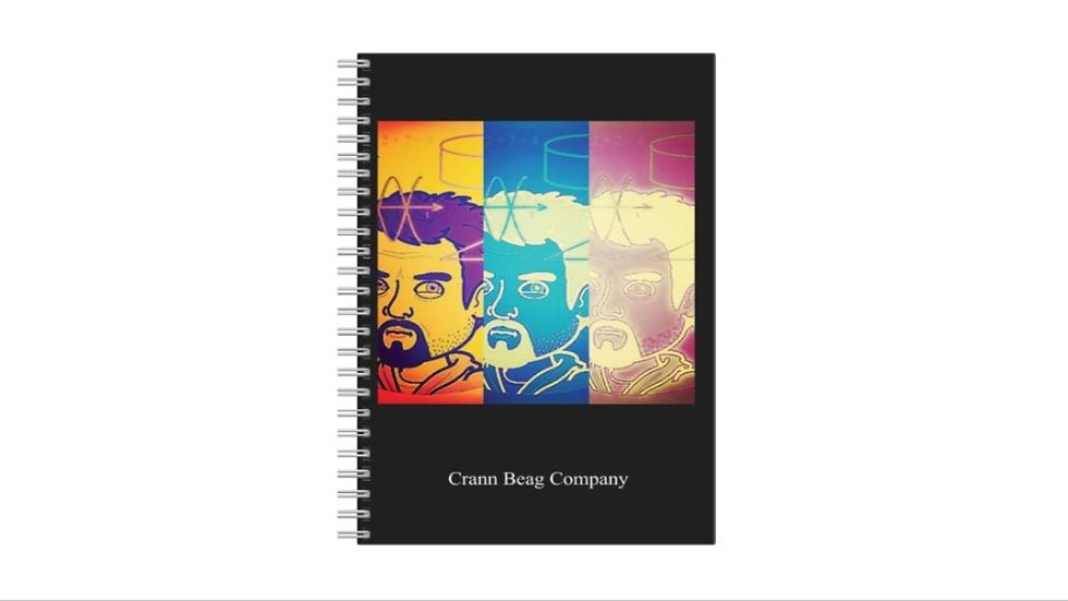 A5 notebook (XRAY LOGO)