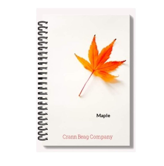 High Gloss A6 Notepad Autumn Maple