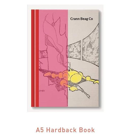 Hardback High Gloss A5 Notepad Sci-Fi (Atom)