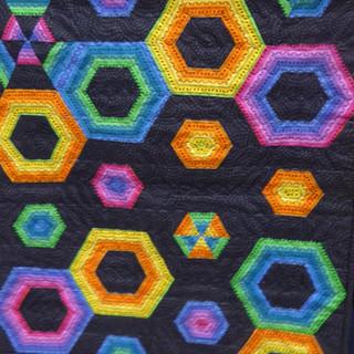Hexagons by Machine 2