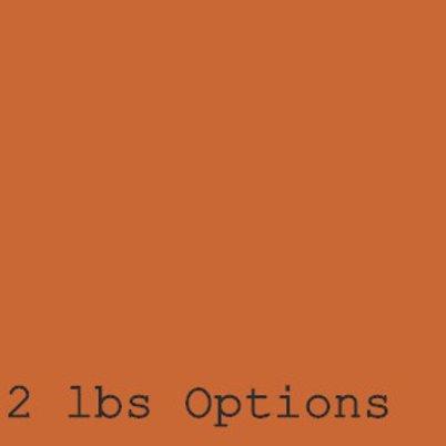 2lbs Whole Bean Options