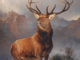 """BBC:""""Iconic Scottish painting The Monarch of the Glen to be sold"""""""