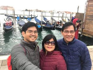 Mr. Francis Miguel Admana, Mrs. Carmelita Admana and Mr. Herminogildo Admana