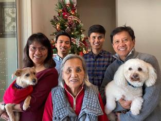 Mr. Eduard Aludino, Mrs. Cynthia Aludino, and Family