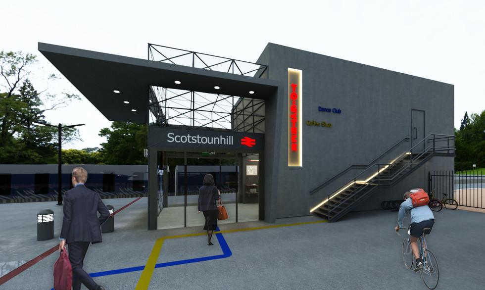 Railway station - UK