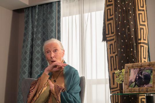 Dr. Jane Goodall, DBE