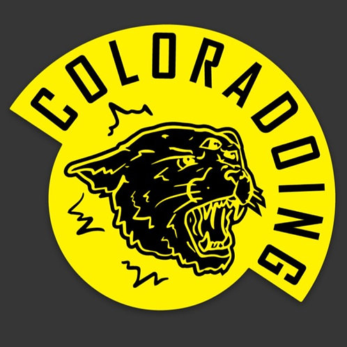 Black and Yellow 3 Eyed Cat Coloradoing