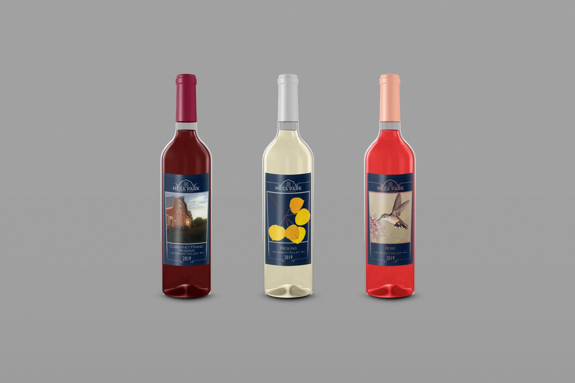 Winery Rebranding by Thomas Mee Design Works