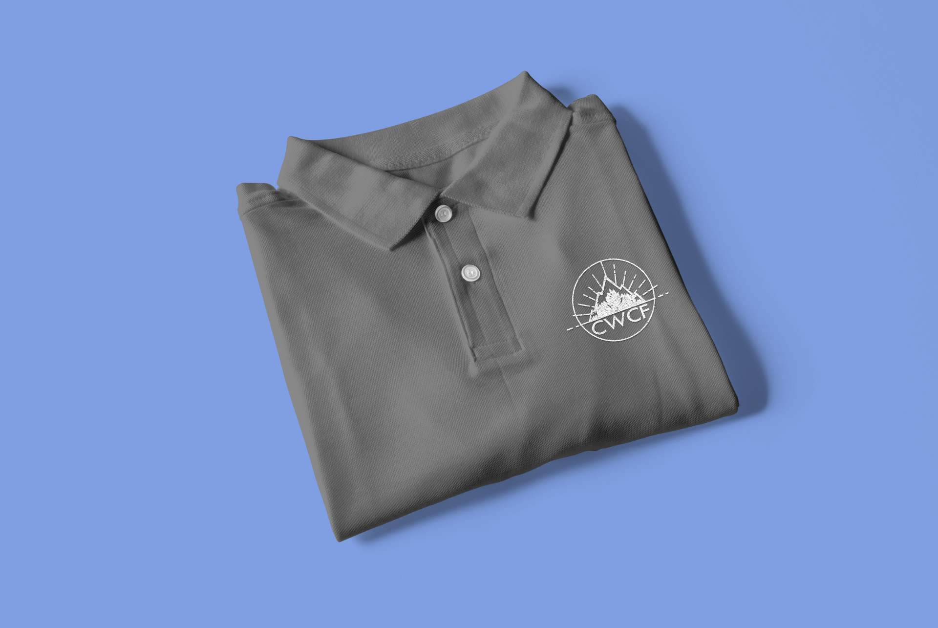 Branding and work uniform polo design by Thomas Mee Design Works
