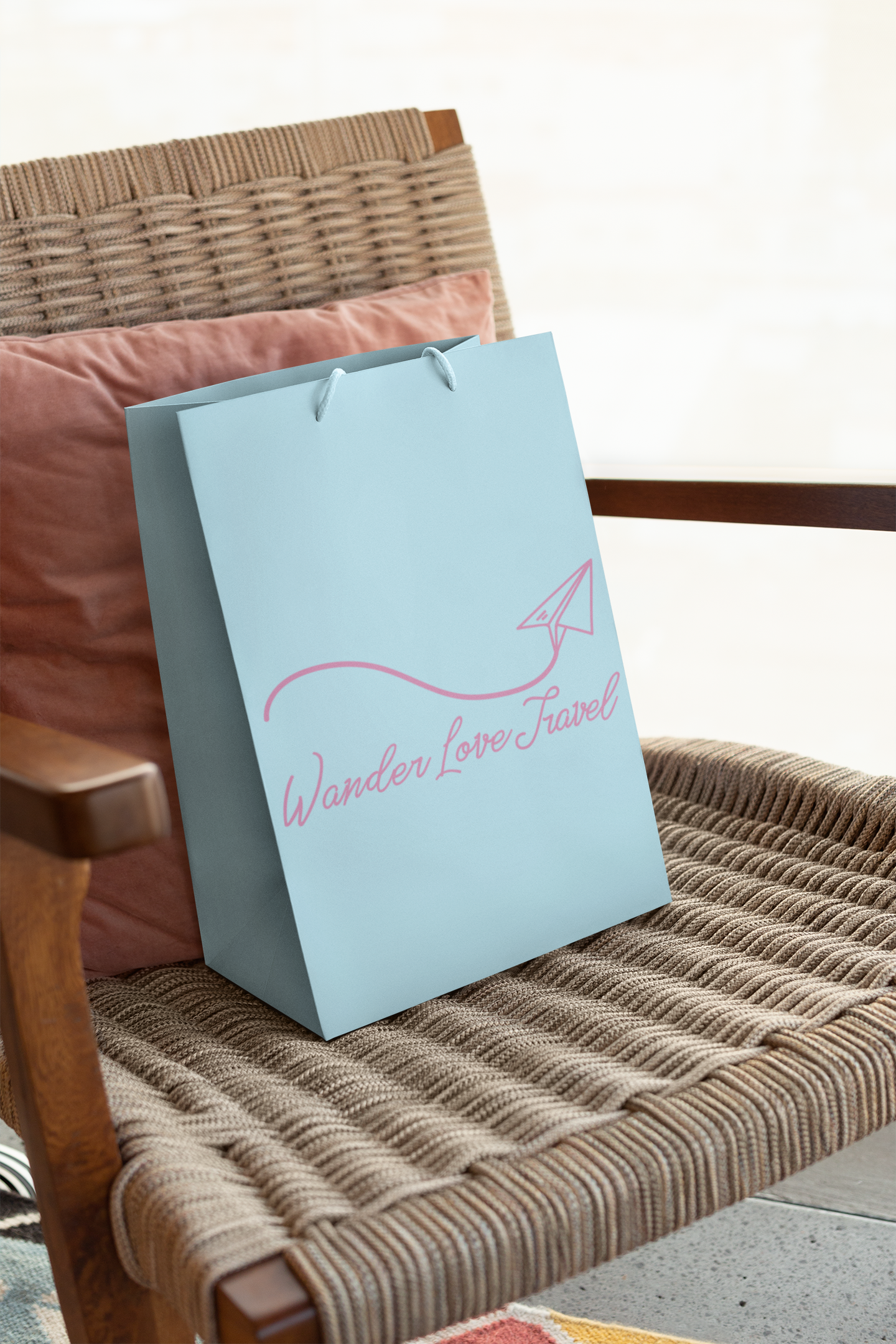 Branding and gift bag design by Thomas Mee Design Works