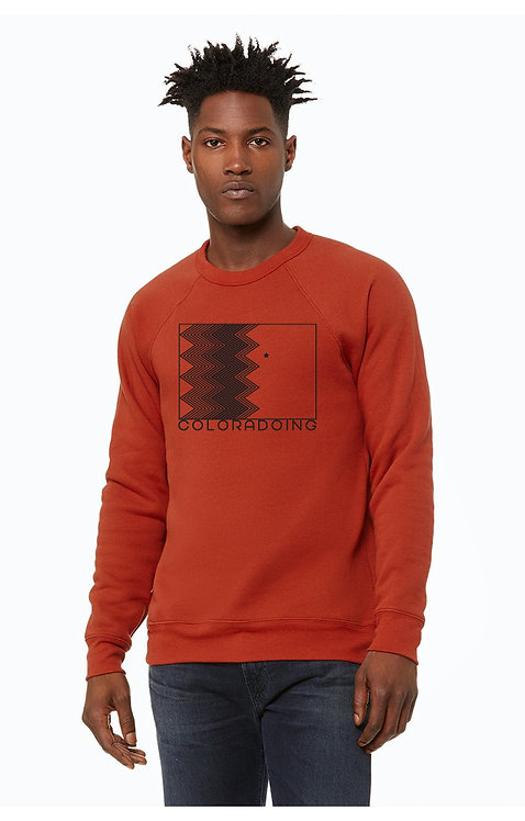 State Map Crew Neck (Mens) Urban | Casual | Apparel
