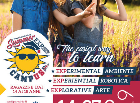 14-27 Giugno 2019 SUMMER Campus EXP Istituto Santa Caterina - Pisa