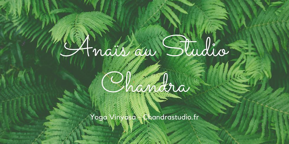 Jeudi Anaïs au Studio Chandra