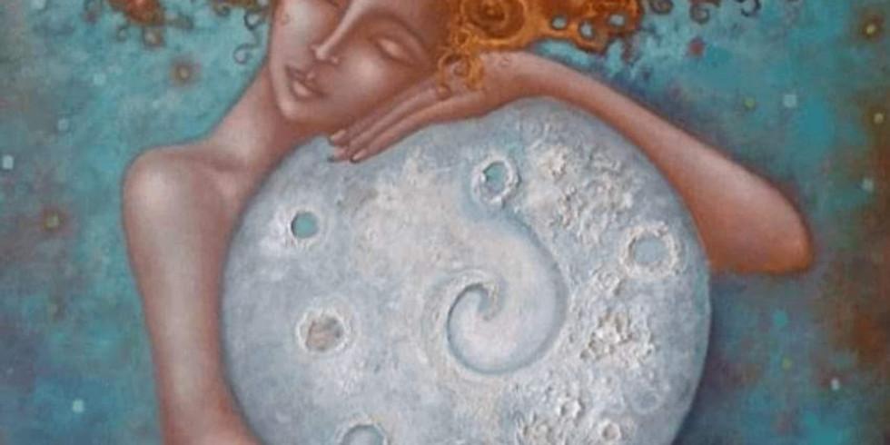 Cercle de femme de la pleine Lune avec Magali
