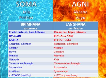 Equilibre et polarité - Yoga et Ayurveda