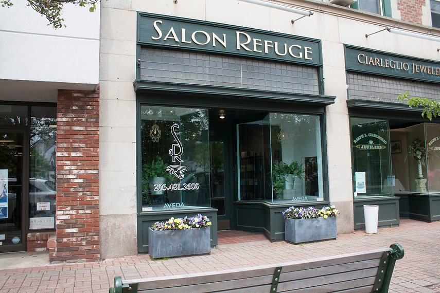 Salon Refuge, a Stylish Escape, Branford Salon, Branford Hair Salon, Hair Salon near me, Hair Color Experts, Balayage, Low Maintaince Hair, Best Hair Salon, CT Hair, CT Hair Salon, Haircuts near me, mens haircuts, women's hair salon, Kevin.Murphy Salon, Blowout Bar, Blowout Menu, Blowouts near me
