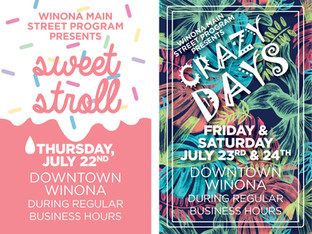 Downtown Winona: Get Ready for the Sweetest, Craziest, Busiest Weekend of 2021