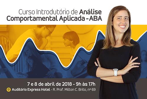 Curso Introdutório de Análise Comportamental Aplicada - ABA
