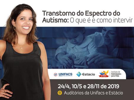 Palestra: Transtorno do Espectro do Autismo - O que é e como intervir