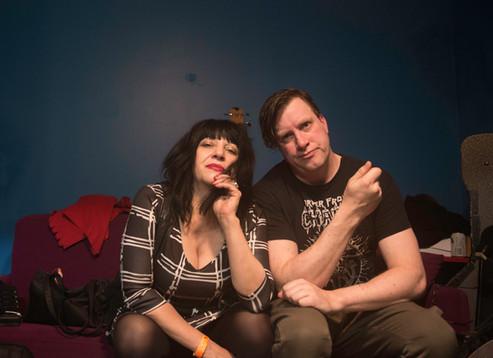 Lydia Lynch & Weasel Walter