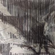 zonder titel. gemengde techniek. 40 x 30 cm