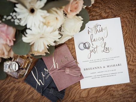 Brides, Let's Talk Small!