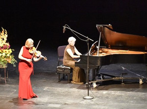 "High Desert Chamber Music announces rebroadcast of Elizabeth Pitcairn and ""The Red Violin"" live perf"