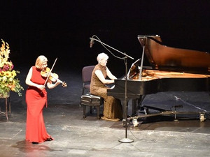 """High Desert Chamber Music announces rebroadcast of Elizabeth Pitcairn and """"The Red Violin"""" live perf"""