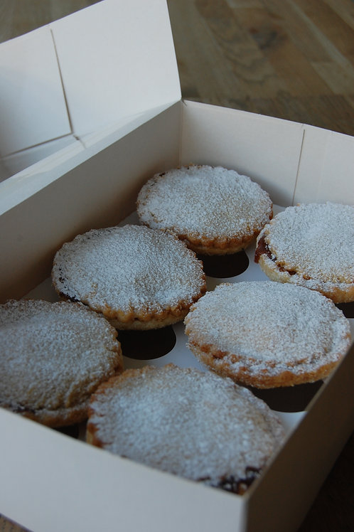 Mince Pie Box / Mince Pies and Gingerbread