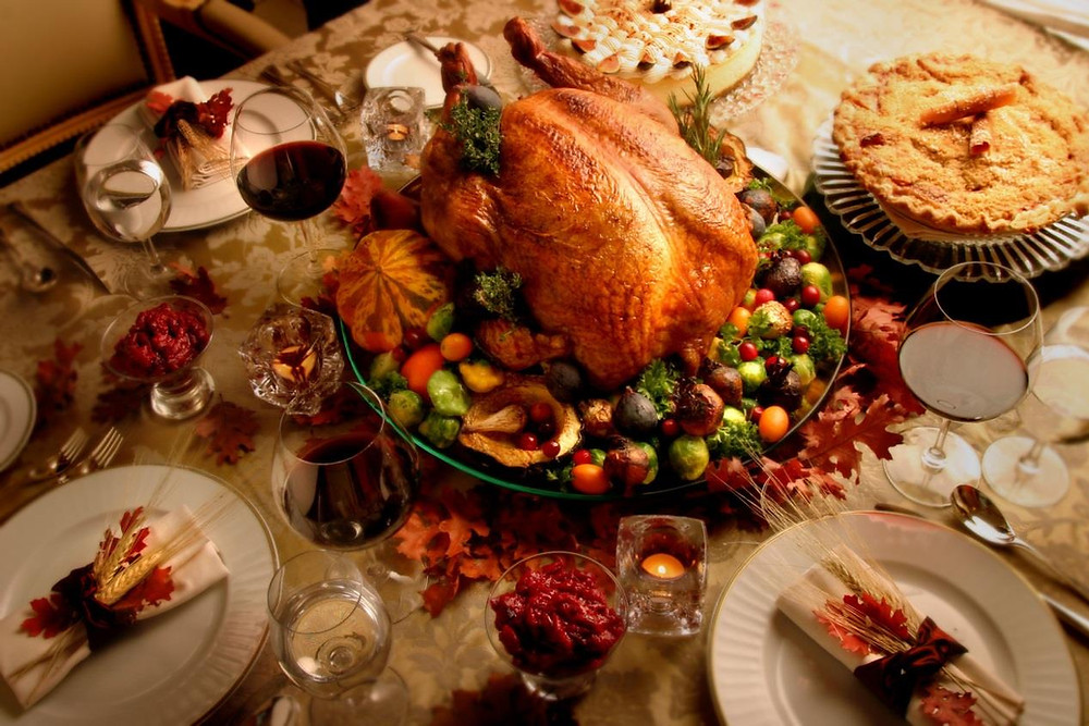Thanksgiving dinner table can put pressure on your heart health