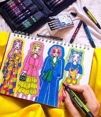 'Minna' Illustrations