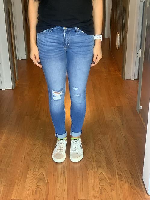 Gemma Mid Rise Ankle Skinny