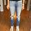 Thumbnail: Gemma Mid Rise R&B Ankle Skinny