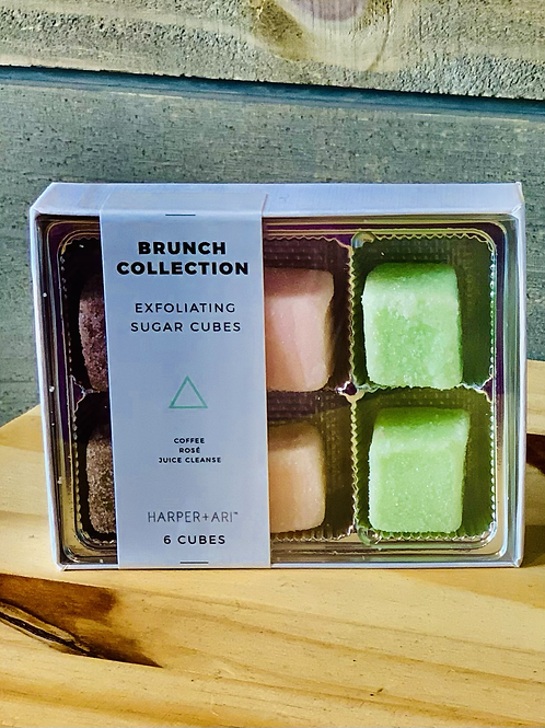 Exfoliating Sugar Cubes- Brunch Collection Kit