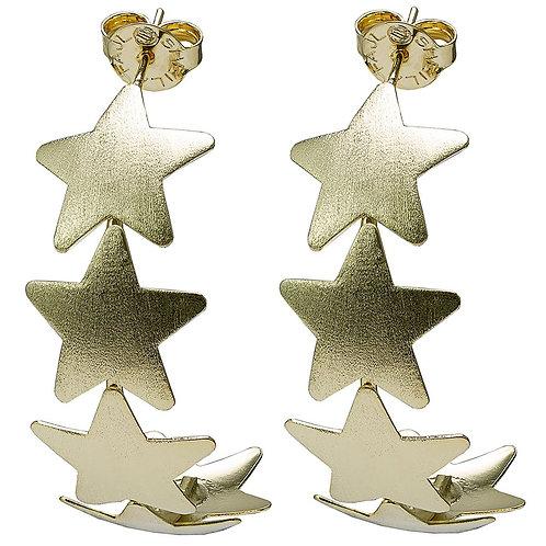 AARON EARRINGS- 5 STARS IN A ROW