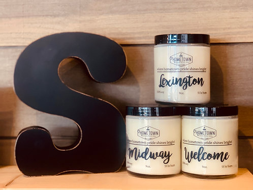 Hometown Candles: Welcome, Lexington, Midway