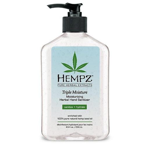 Hempz Hand Sanitizer - Triple Moisturizer 63% 17oz