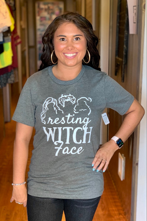 Resting Witch Face Graphic Tee
