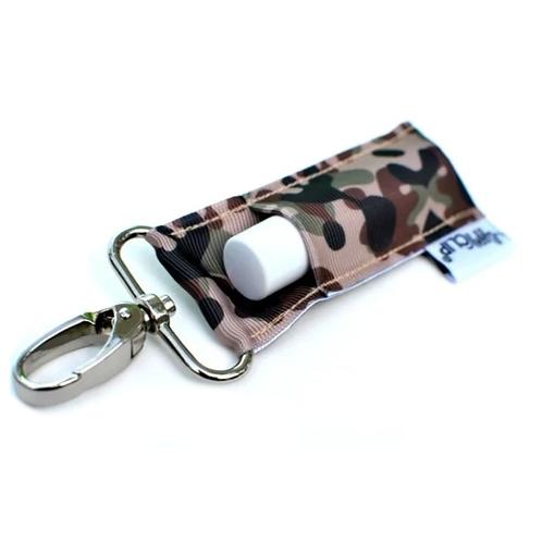 Camouflage LippyClip Lip Balm Holder