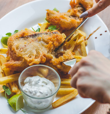 craft head fish and chips