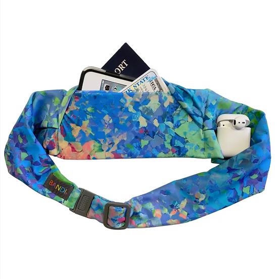 Large pocket belt, Kaleidoscope by BANDI wear