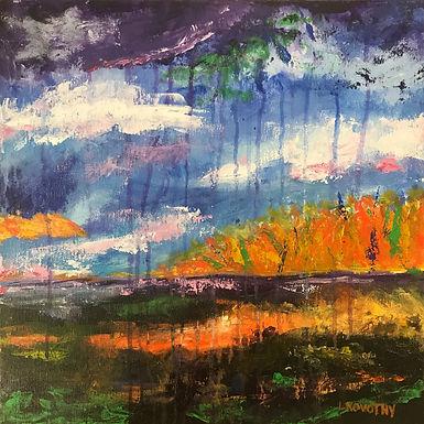 Abstract Rain by Lois Novotny