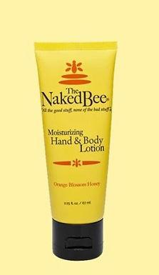 Naked Bee Hand Lotion 2.25 oz Orange Blossom Honey
