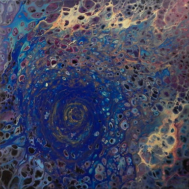 Paint Pour #4 by Jane Yates