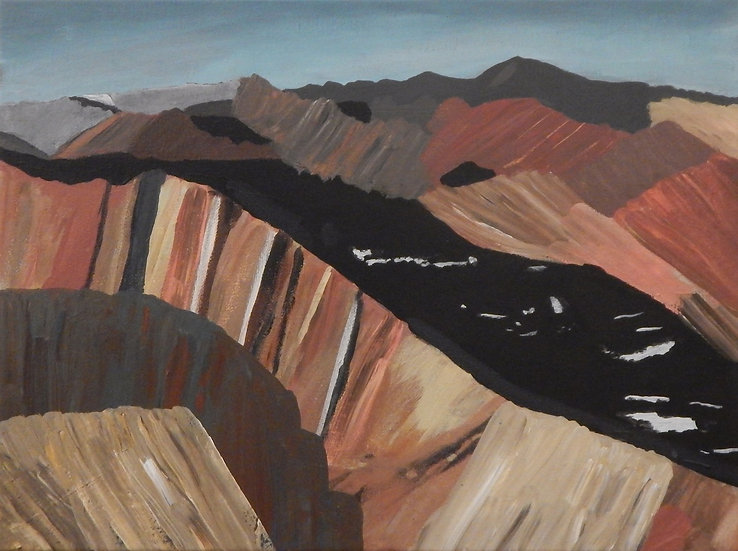 Mountain Range by Elizabeth Johnson