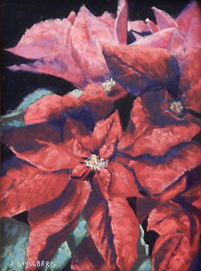 Poinsettia by Jody Shyllberg  HONORABLE MENTION