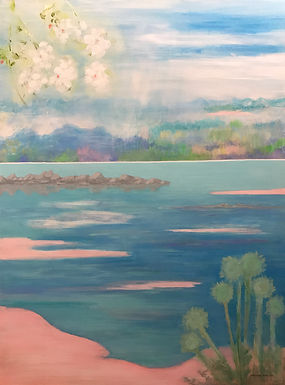 Tranquil Waters by Maryann Amodeo