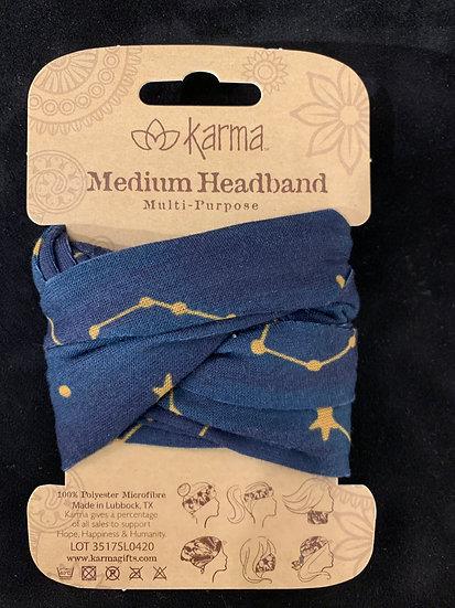 Karma Half Headband - Constellations